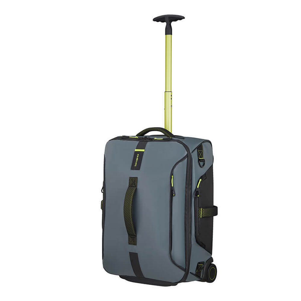 Samsonite Paradiver Light Duffle Wheels 55 Backpack Trooper Grey