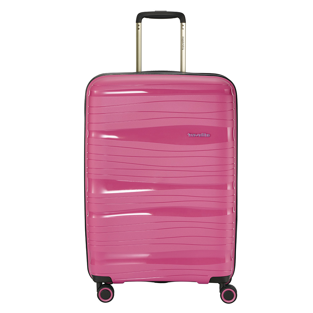 Travelite Motion 4 Wheel Trolley M Expandable Rose