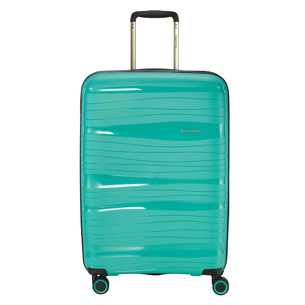 Travelite Motion 4 Wheel Trolley M Expandable Mint