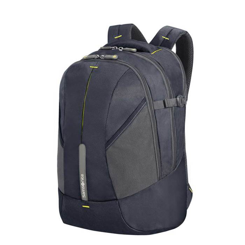 Samsonite 4Mation Backpack S Midnight Blue Yellow Samsonite Casual Rugtassen