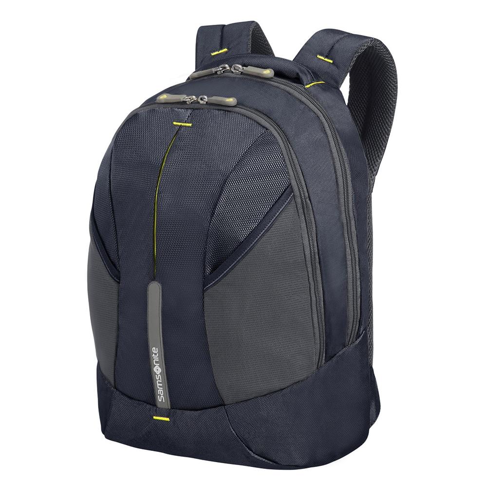 Casual Rugtassen Samsonite Samsonite 4Mation Laptop Backpack L Expandable Midnight Blue Yellow