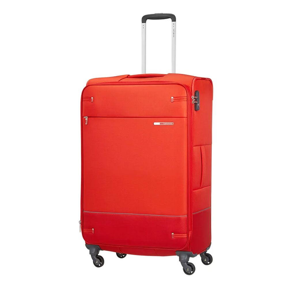 Samsonite Base Boost Spinner 78 Expandable Fluo Red