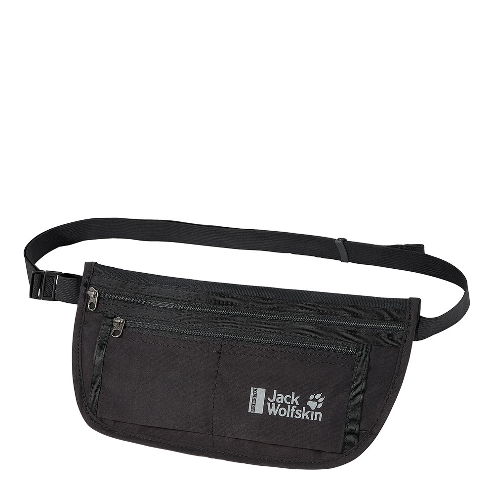 Jack Wolfskin Document Belt RFID Black