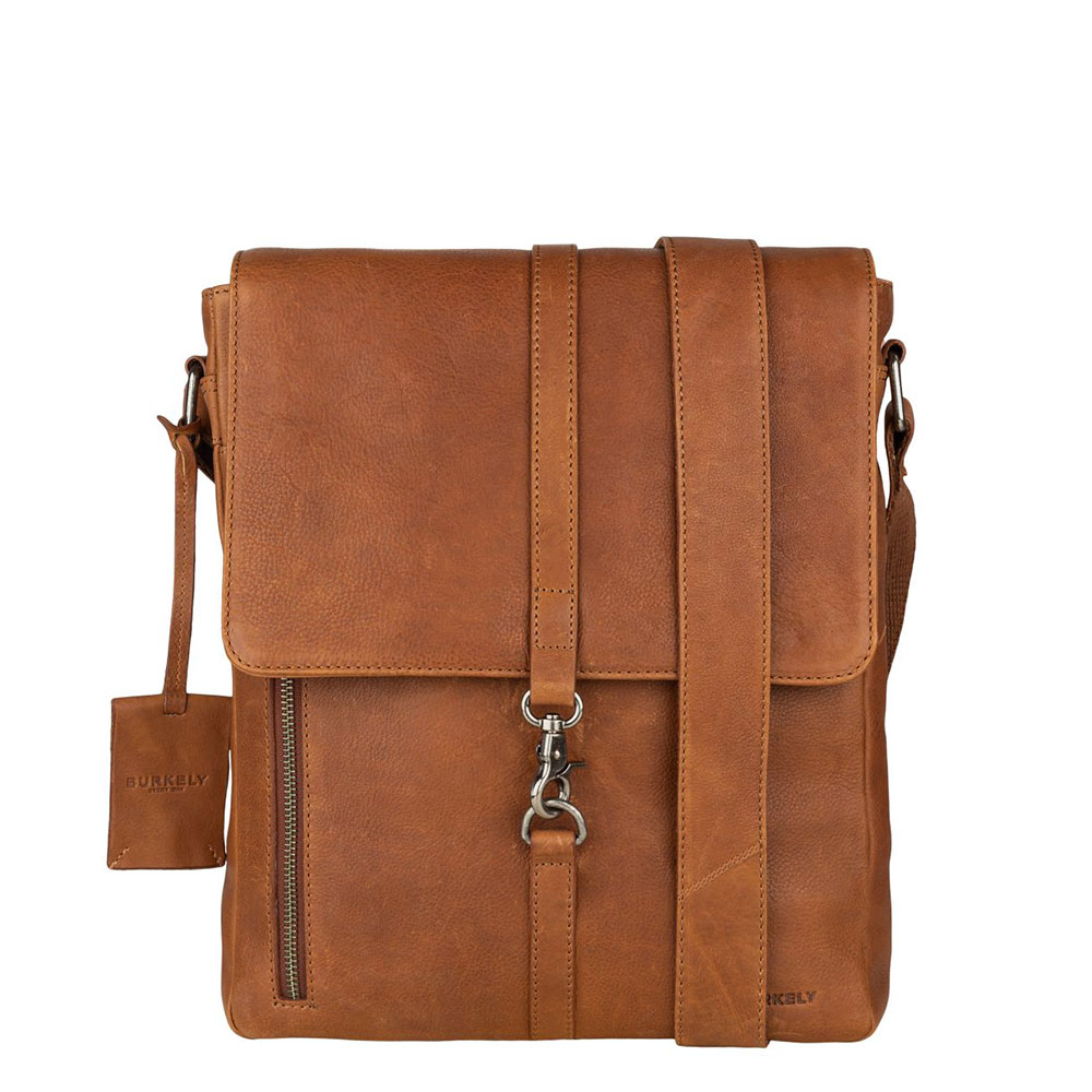 Burkely Antique Avery Crossover Messenger M Cognac