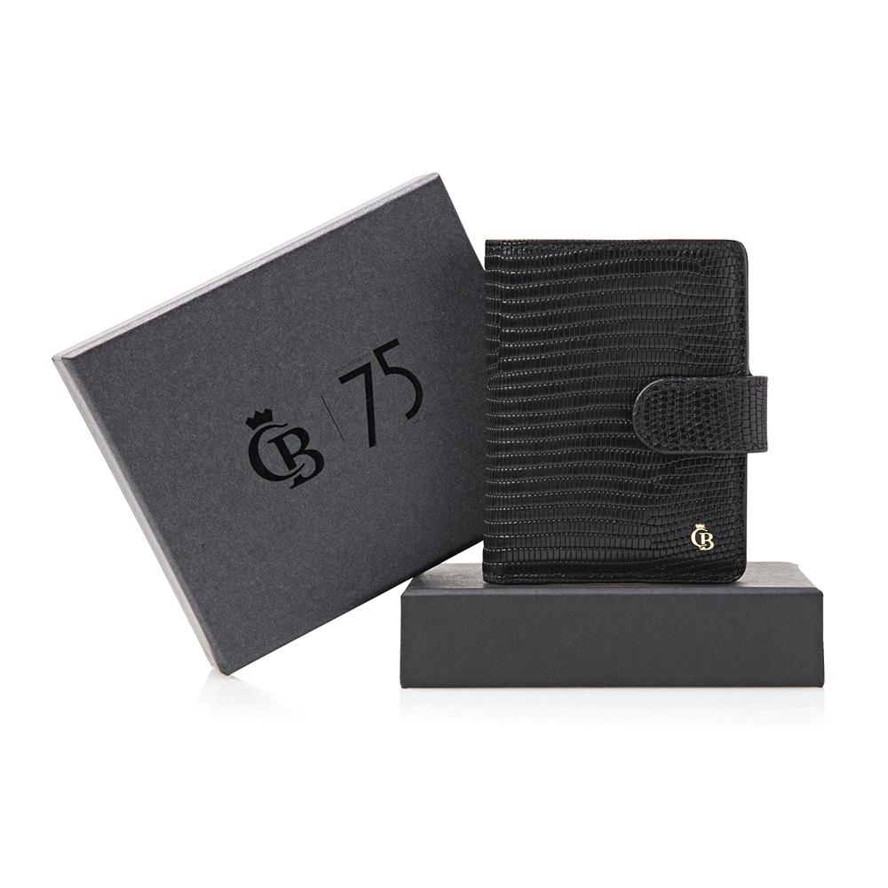 Castelijn & Beerens Giftbox Mini Wallet Black