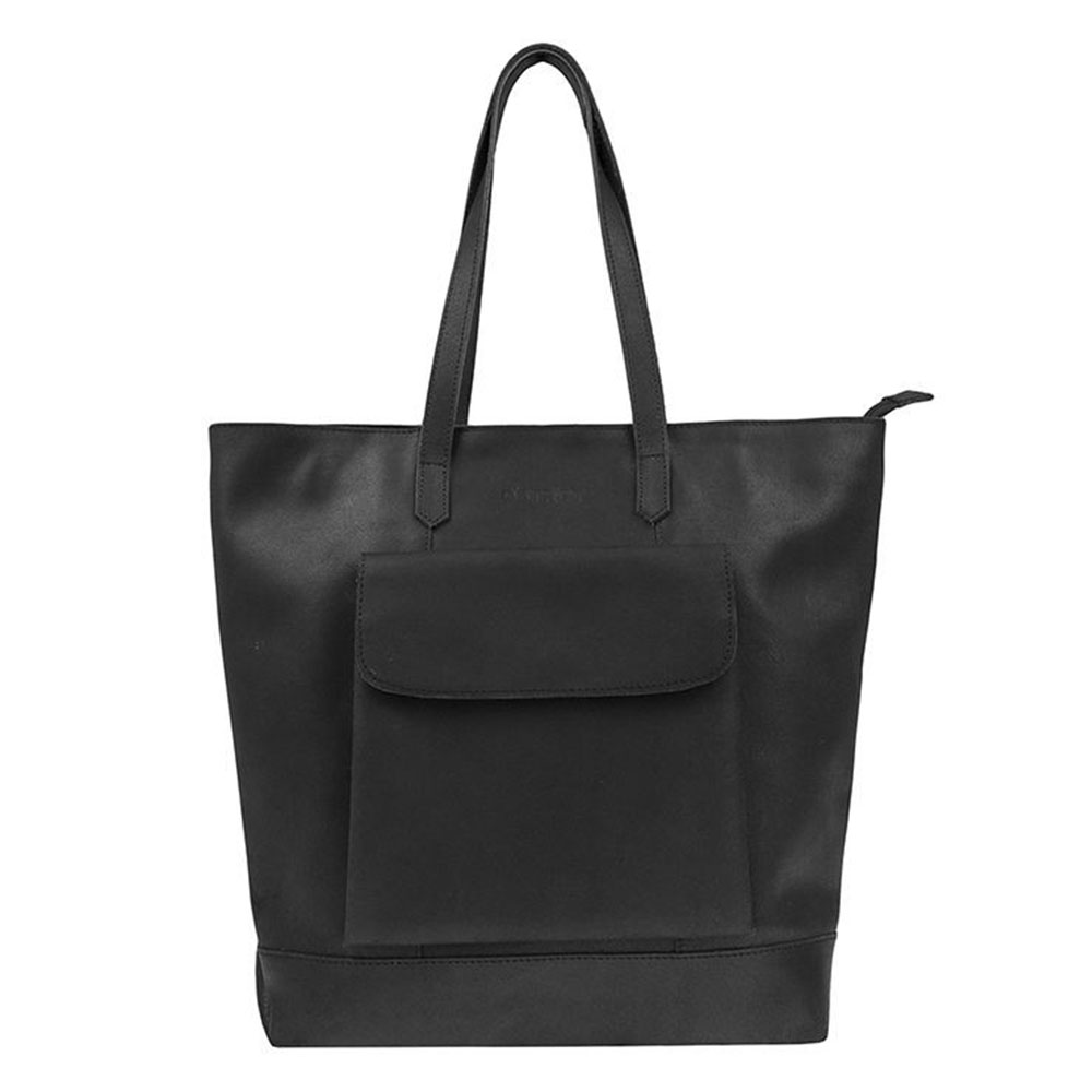 DSTRCT Riverside Shopper Front Pocket Black 11130