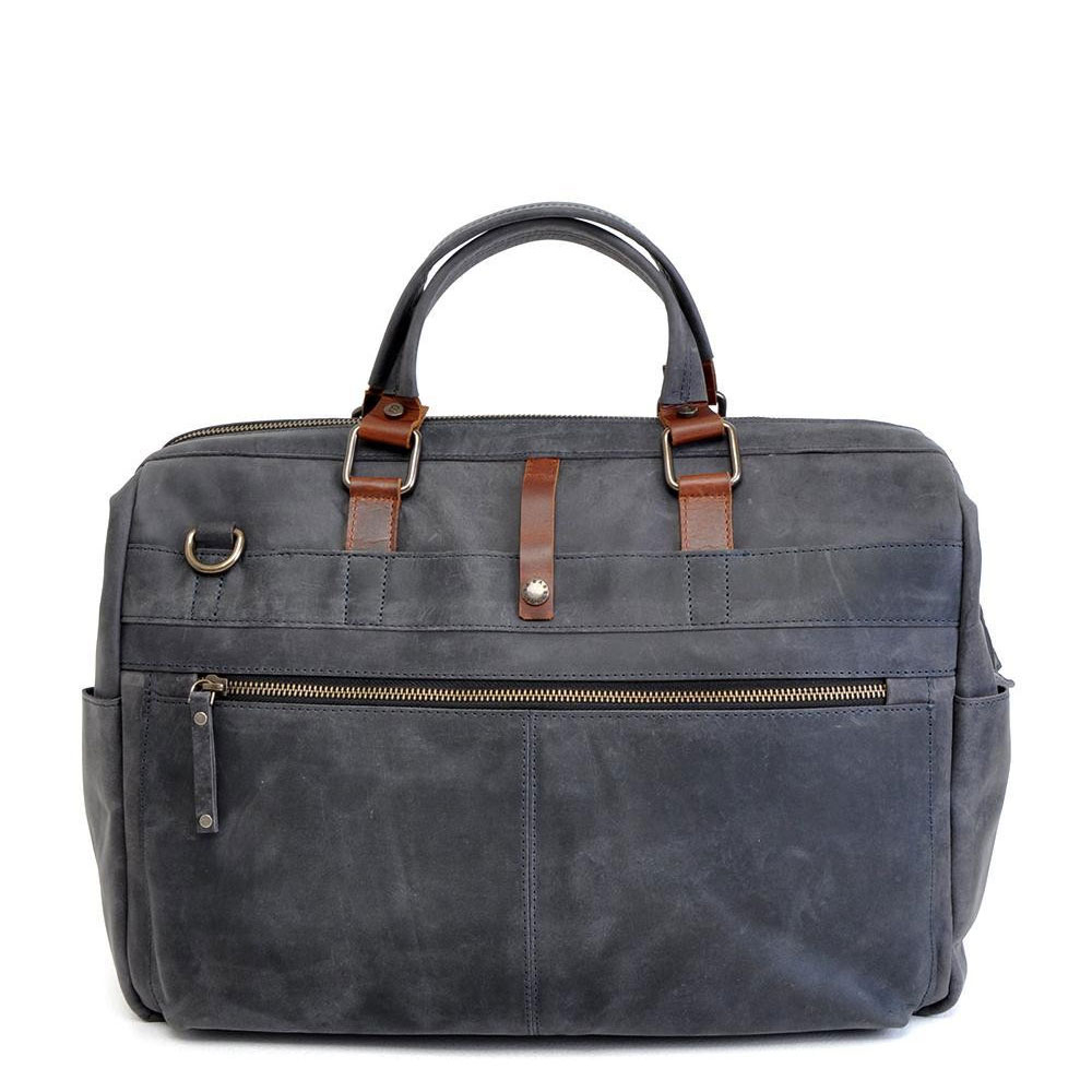 "Afbeelding van Barbarossa Ruvido Businessbag 16.4"" Navy"