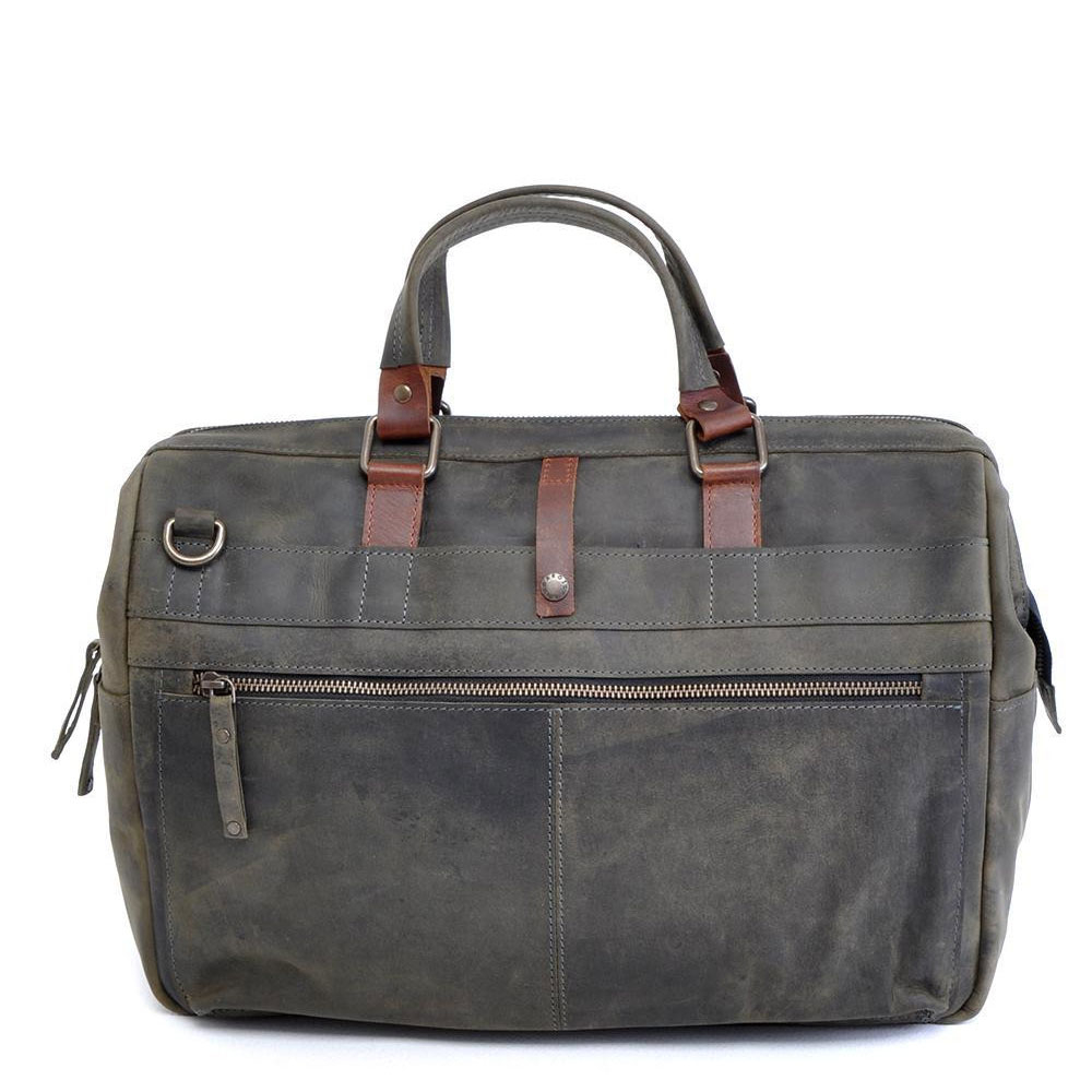 "Afbeelding van Barbarossa Ruvido Businessbag 16.4"" Military"