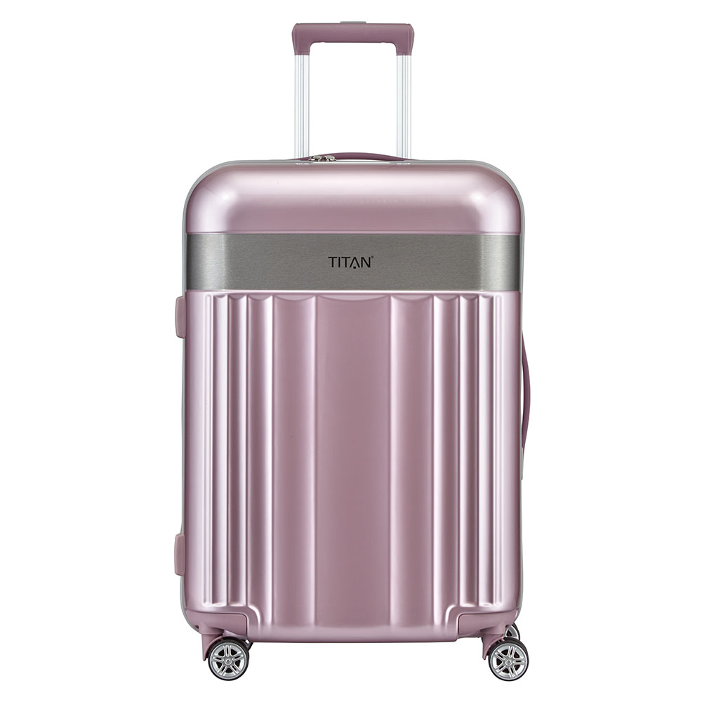 Titan Spotlight Flash 4 Wheel Trolley M Wild Rose