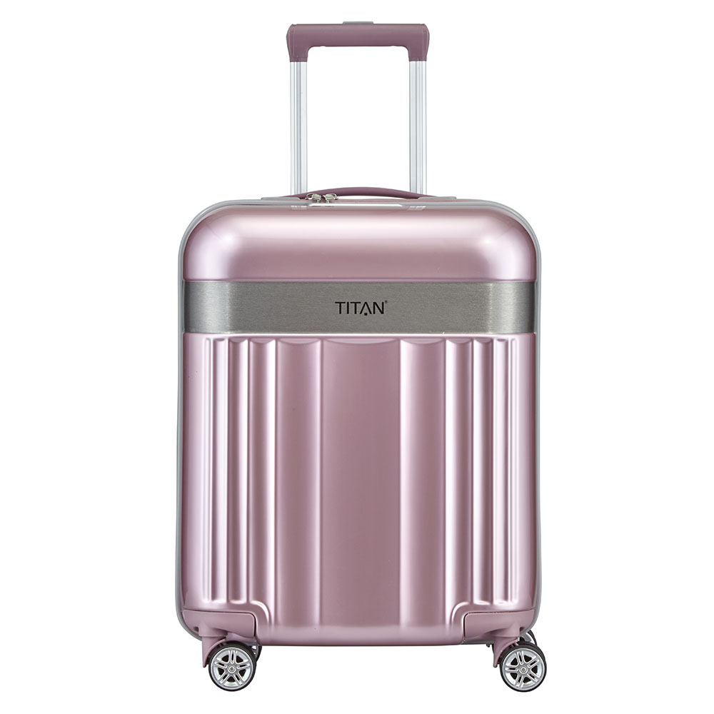 Titan Spotlight Flash 4 Wiel Trolley S wild rose Harde Koffer