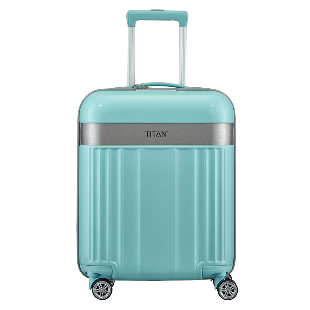 Titan Spotlight Flash 4 Wiel Trolley S mint Harde Koffer