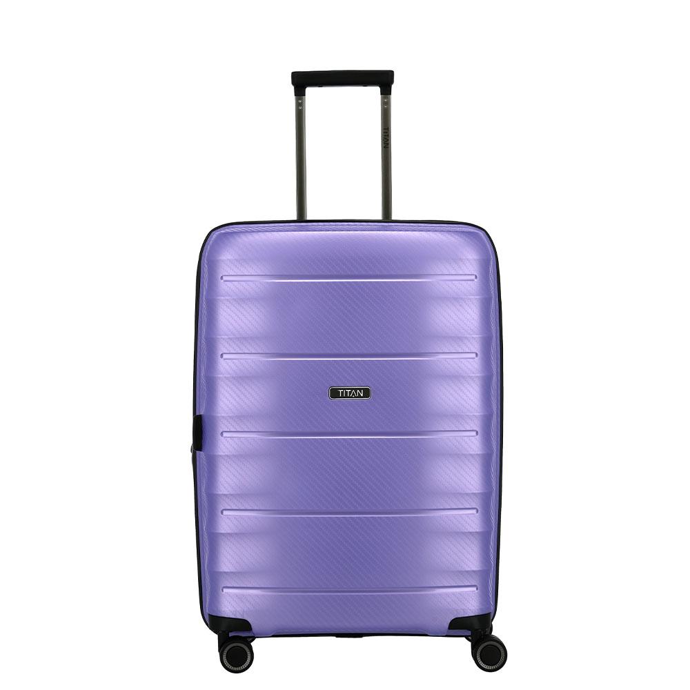 Titan Highlight 4 Wheel Trolley M Expandable Lilac Metallic