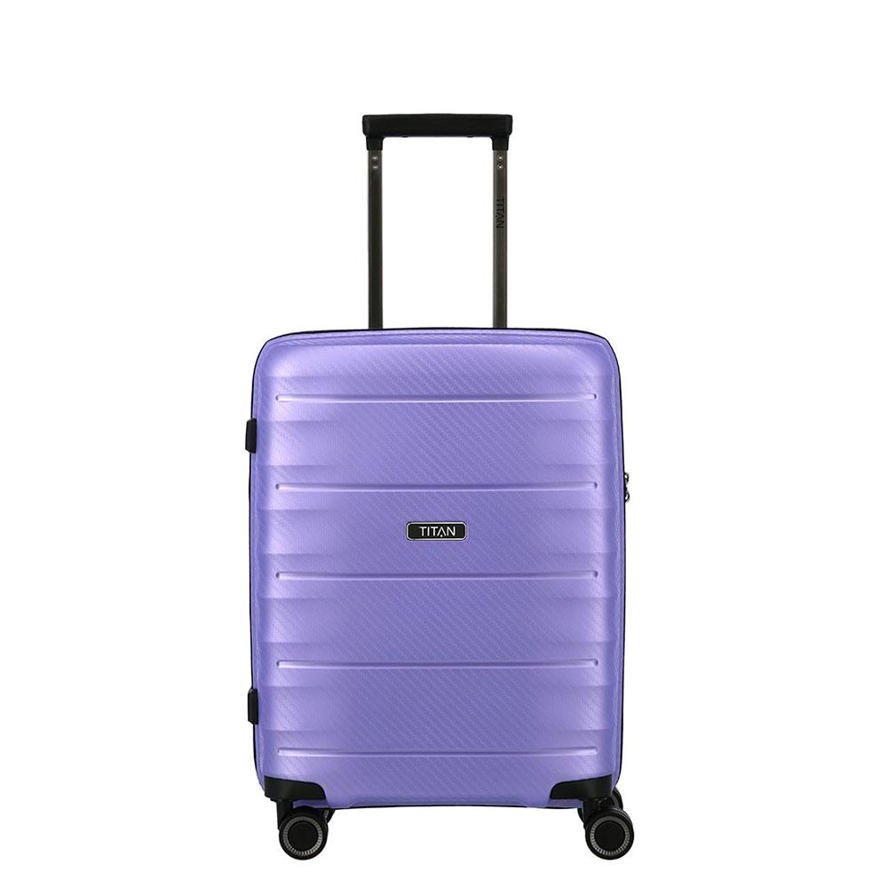 Titan Highlight 4 Wheel Handbagage Trolley S Lilac Metallic