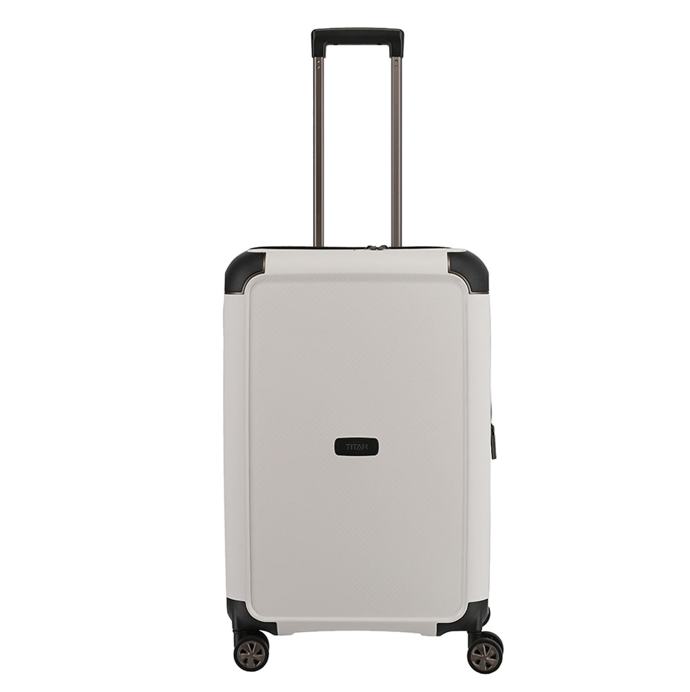 Titan Compax 4 Wheel Trolley M Exp White