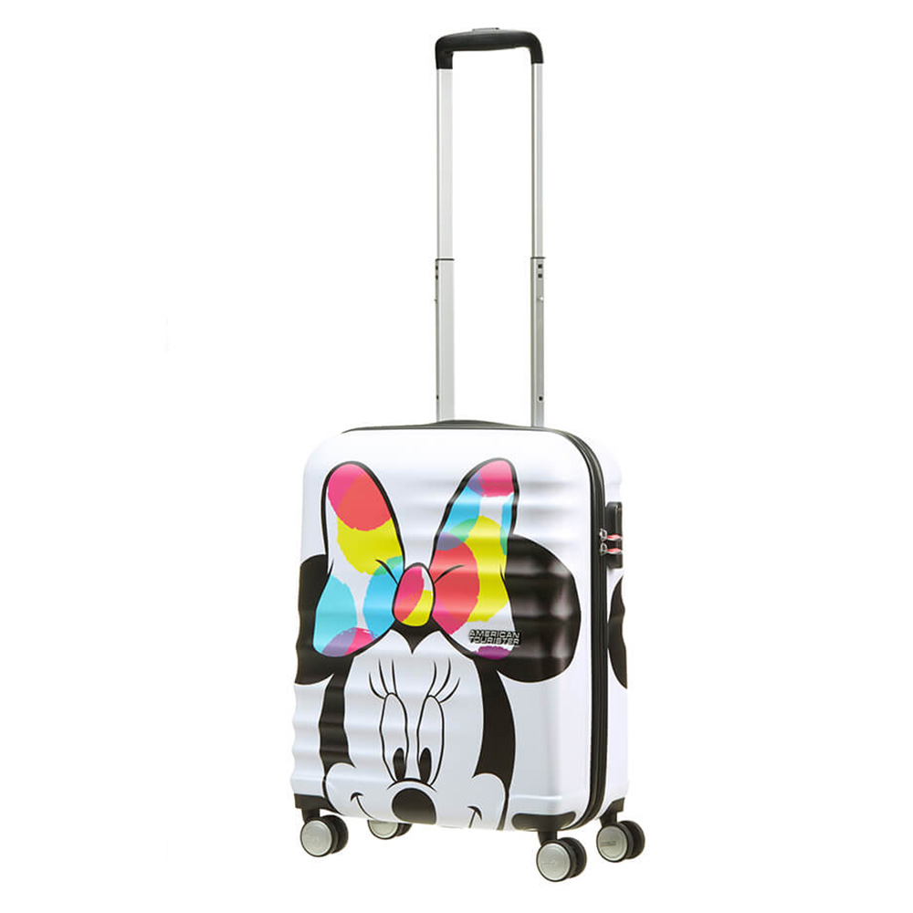 American Tourister Wavebreaker Disney Spinner 55 Minnie Close Up American Tourister Schitterend