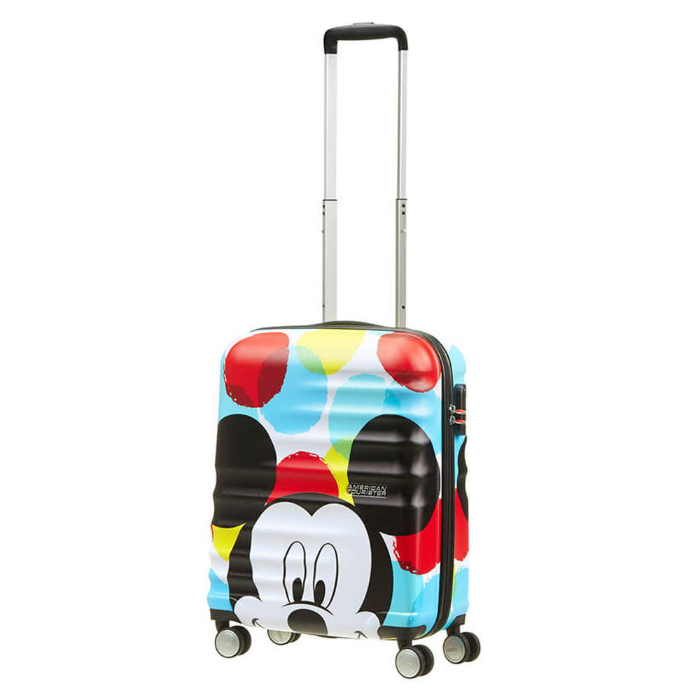 American Tourister American Tourister Wavebreaker Disney Spinner 55 Mickey Close Up Harde Koffers