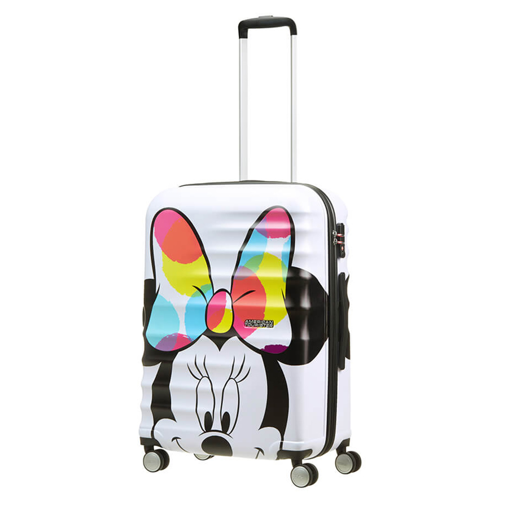 Harde Koffers American Tourister American Tourister Wavebreaker Disney Spinner 67 Minnie Close Up