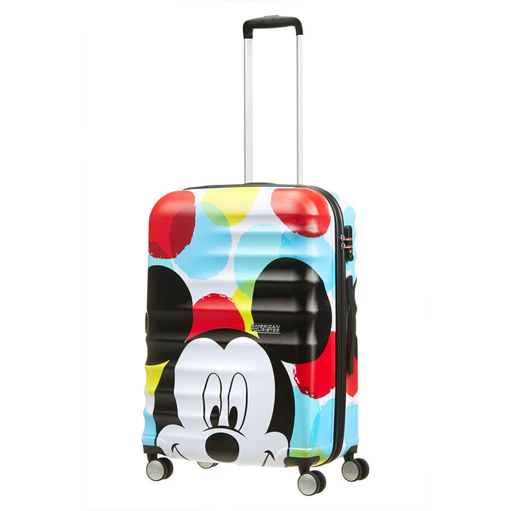 Harde Koffers American Tourister American Tourister Wavebreaker Disney Spinner 67 Mickey Close Up