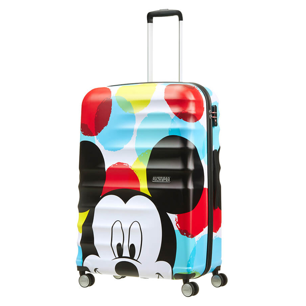 Harde Koffers American Tourister American Tourister Wavebreaker Disney Spinner 77 Mickey Close Up