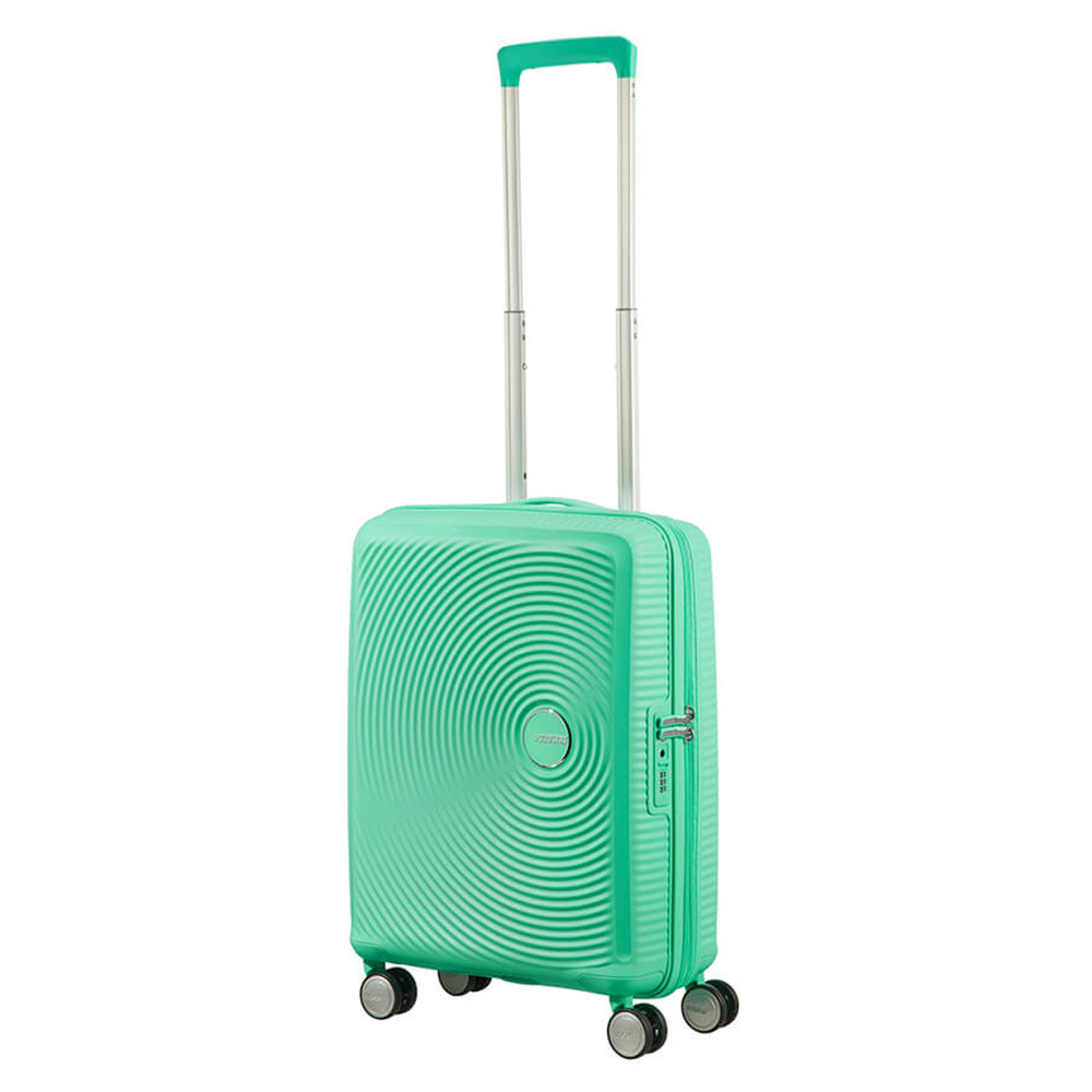 American Tourister Soundbox Spinner 55 Exp. Deep Mint American Tourister Het leukste