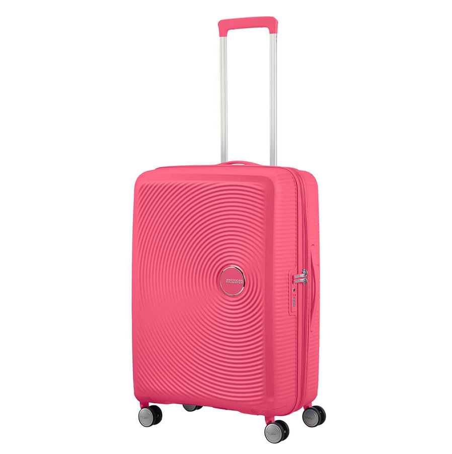 American Tourister Soundbox Spinner 67 Exp. Hot Pink