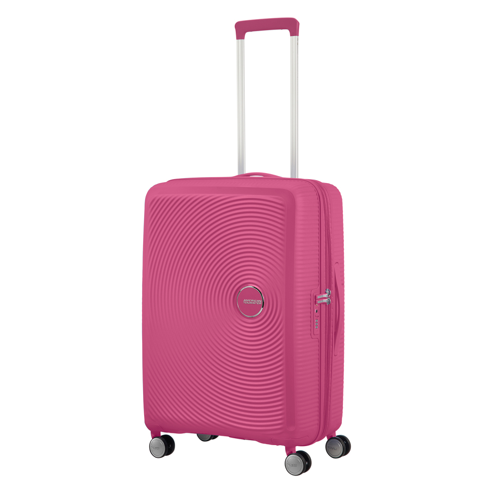 American Tourister Soundbox Spinner 67 Expandable Magenta