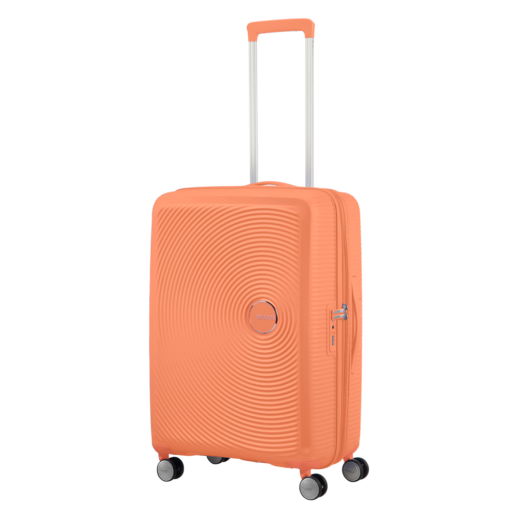 American Tourister Soundbox Spinner 67 Expandable Cantaloupe