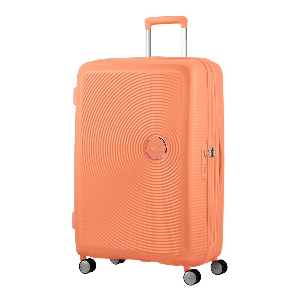 American Tourister Soundbox Spinner 77 Expandable Cantaloupe