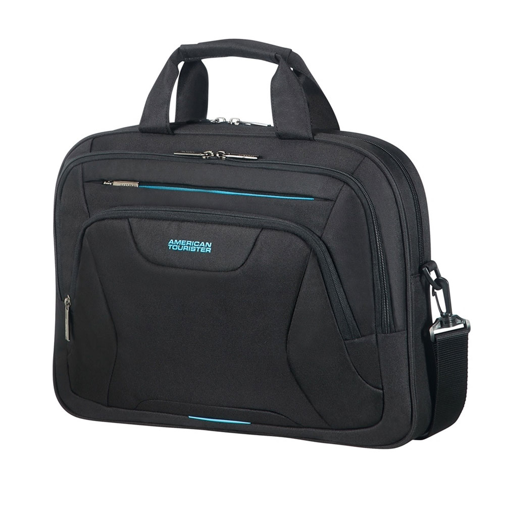 "Afbeelding van American Tourister AT Work Laptop Bag 15.6"" Black"