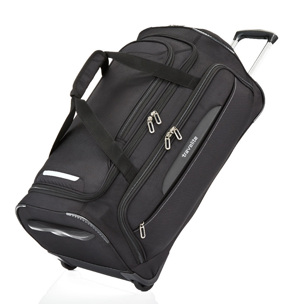 Travelite CrossLite Wheeled Duffle M Black