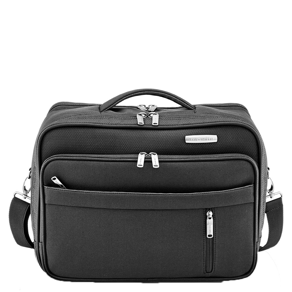 Travelite Capri Boardbag Horizontal Schoudertas Black