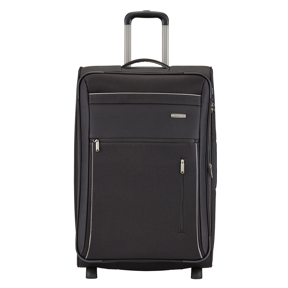 Travelite Capri 2 Wheel Trolley L Expandable Black