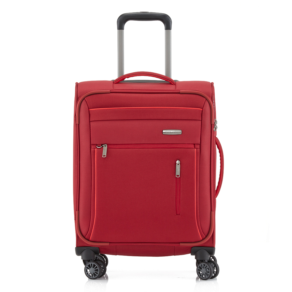 Travelite Capri 4 Wheel Trolley S Red