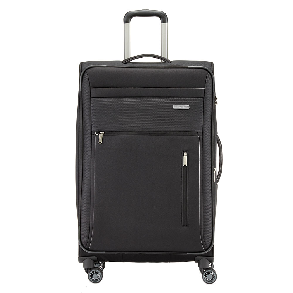 Travelite Capri 4 Wheel Trolley L Expandable Black