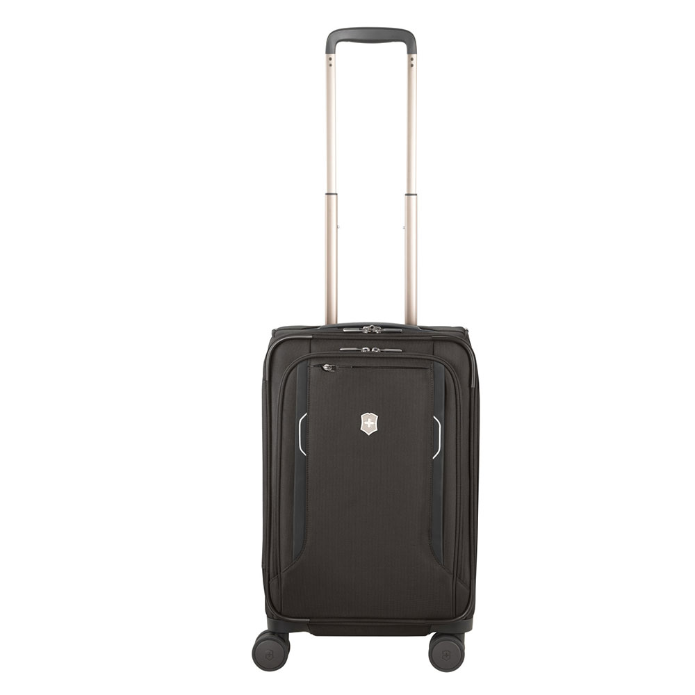 Victorinox Werks Traveler 6.0 Frequent Flyer Softside Carry-On Black