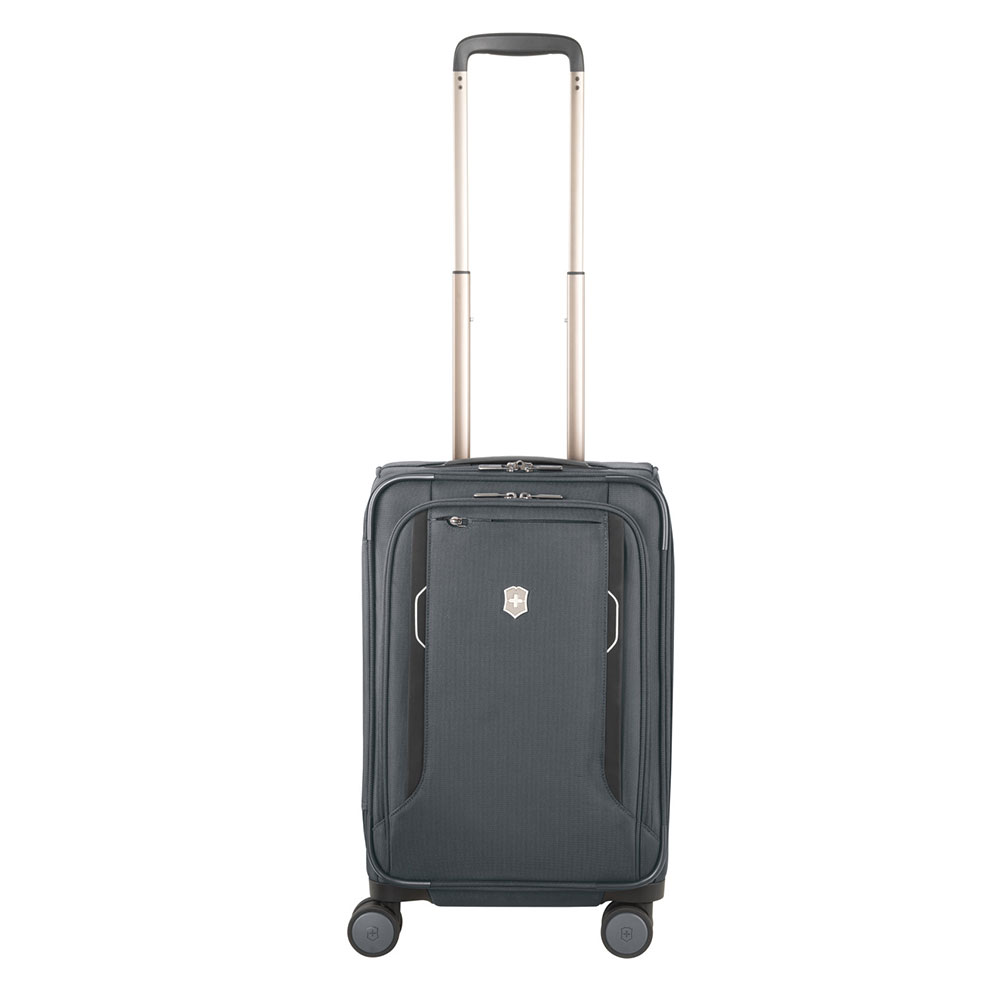 Victorinox Werks Traveler 6.0 Frequent Flyer Softside Carry-On Grey