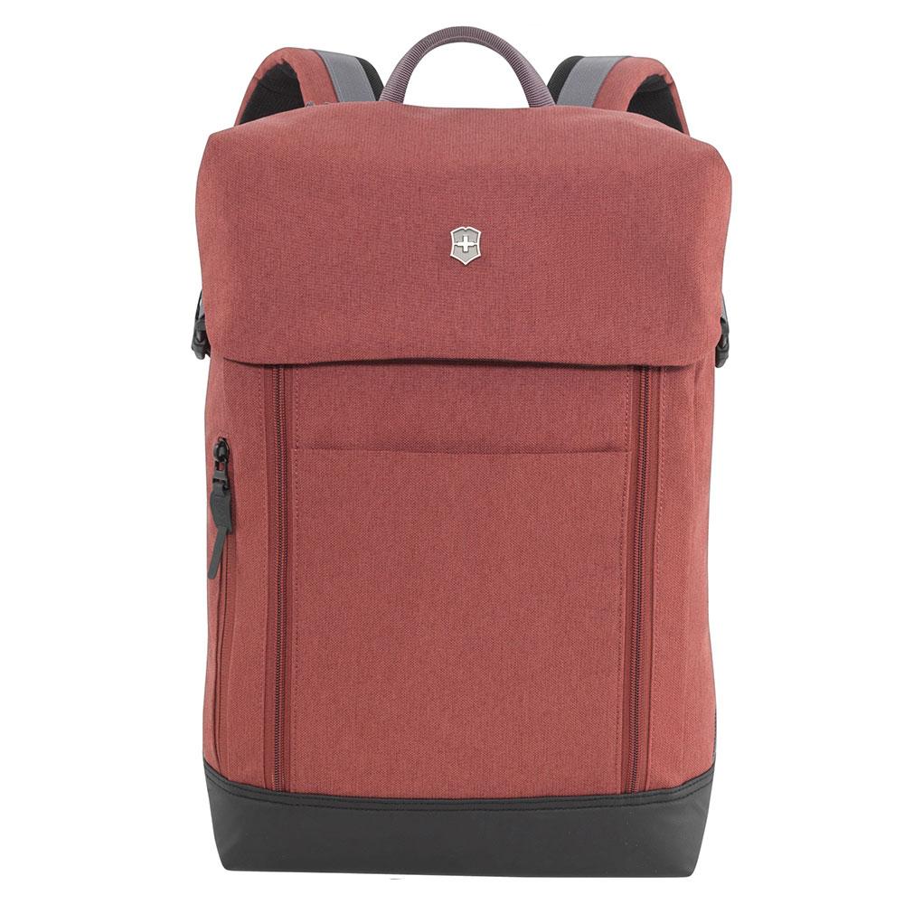 Victorinox Altmont Classic Deluxe Flapover Laptop Backpack Burgundy