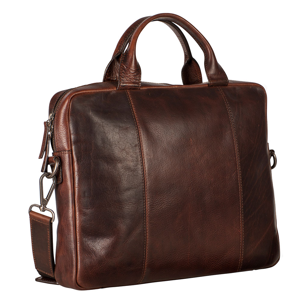 Leonhard Heyden Roma Tote Bag 1 Compartment brown