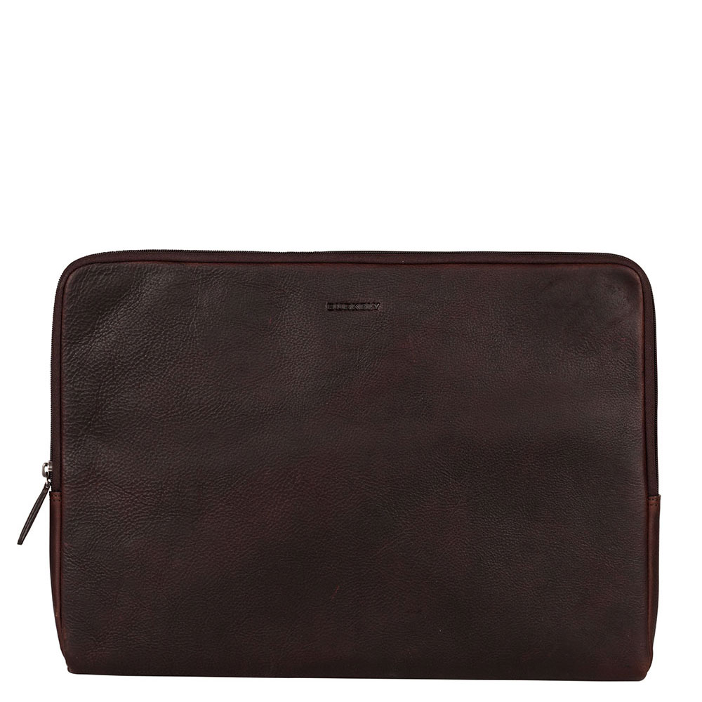 Burkely Antique Avery Laptopsleeve 15.6 Brown 910756