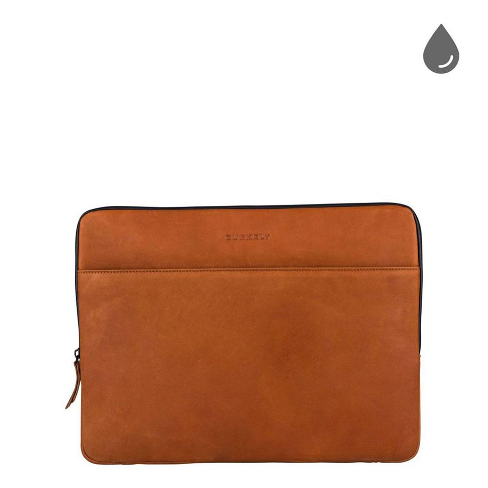 Burkely Rain Riley Laptopsleeve 15.6 Corroded Cognac