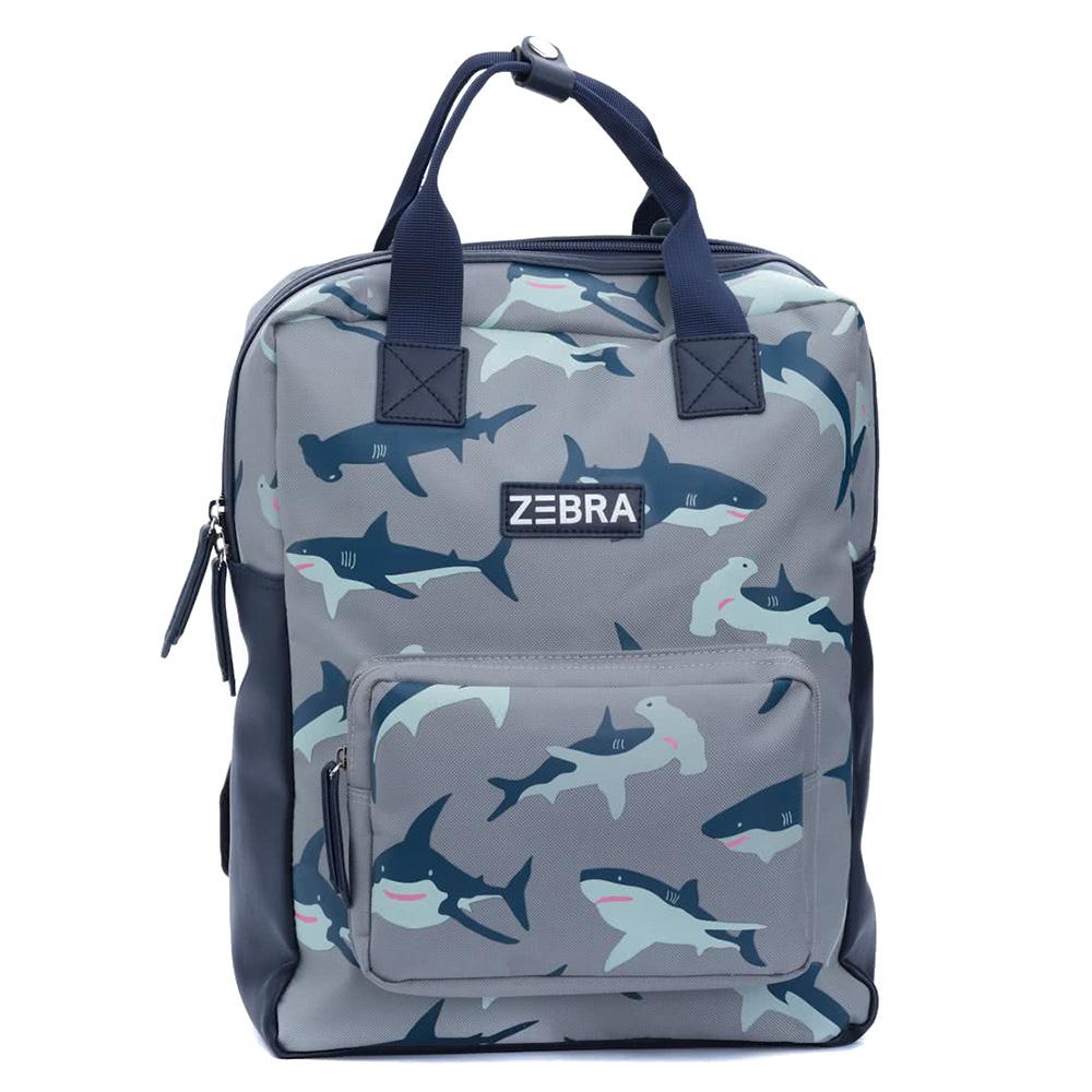 Zebra Trends Boys Rugzak L Shark