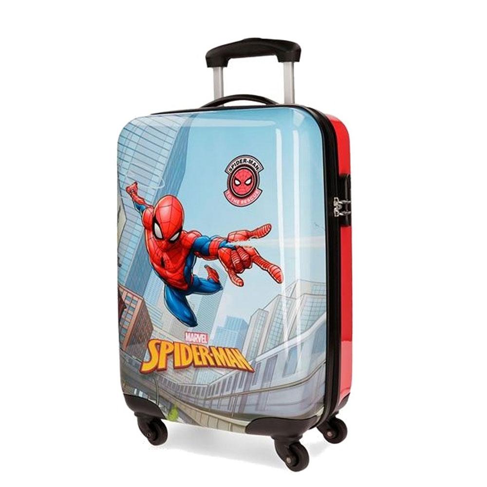 Disney Trolley 55 Cm 4 Wheels Spiderman Grafiti