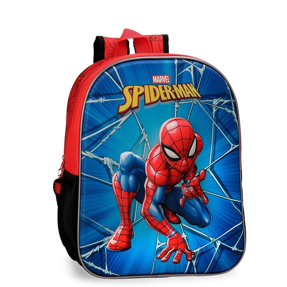 Disney Backpack Spiderman Black EVA