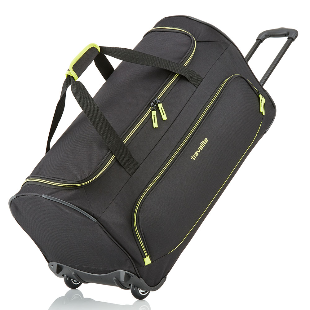 Travelite Basics Fresh Wheeled Duffle 70cm Black