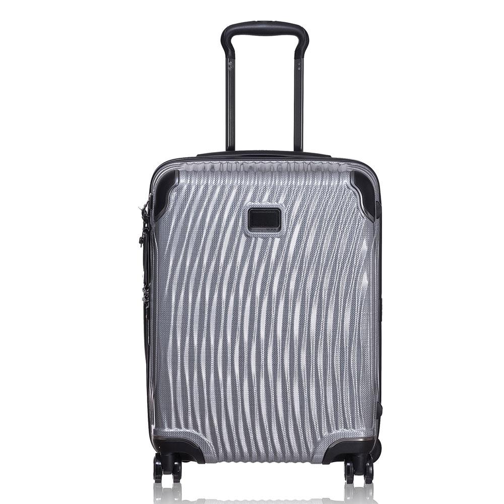 Tumi Latitude International Slim Carry-On Silver