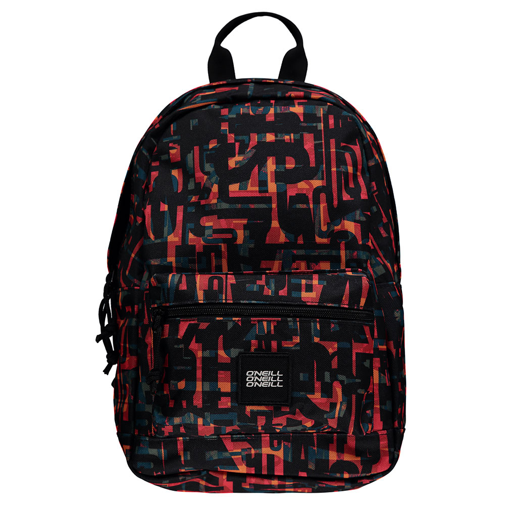 O'Neill Coastline Mini BM Rugzak Red AOP W/ Black