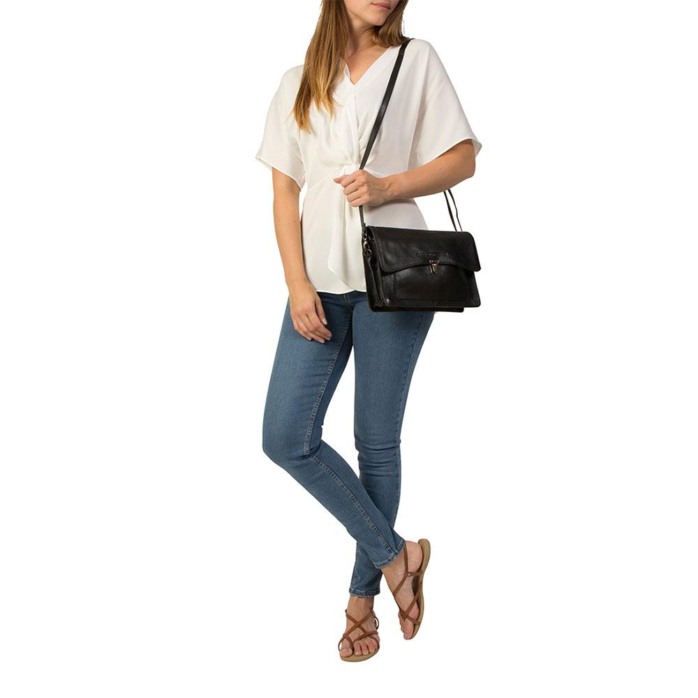 Cowboysbag Bag Noyan Schoudertas Black 2138