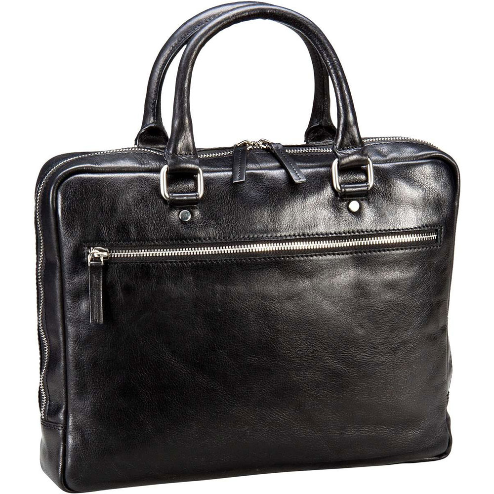 Leonhard Heyden Cambridge 1 Compartment Briefcase S black