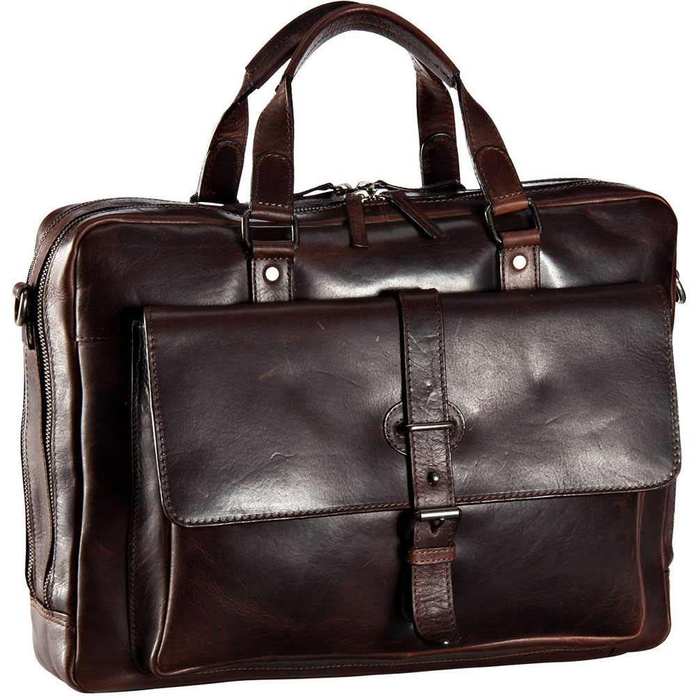 Leonhard Heyden Roma Tote Bag brown