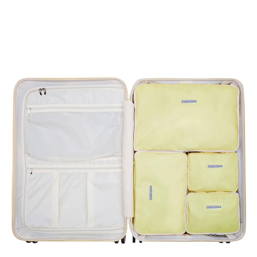 SuitSuit Fabulous Fifties Packing Cube Set Large 76 cm Mango Cream